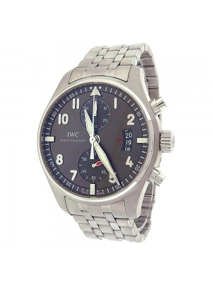 IWC Spitfire Chronograph IW387804 Stainless Steel Automatic Grey Men's Watch