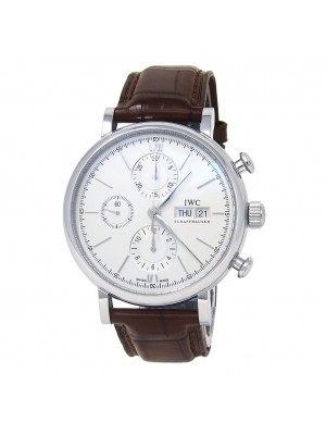IWC Portofino Chronograph Stainless Steel Automatic Men's Watch IW391007
