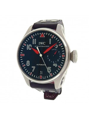 IWC Big Pilot 7 days Muhammad Ali IW500435 Stainless Steel Auto Black Watch
