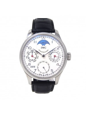IWC Portuguese Perpetual Calendar Stainless Steel Automatic Men's Watch IW502308