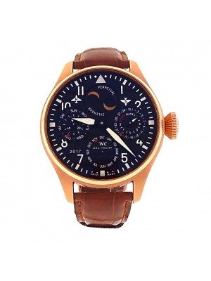 IWC Big Pilot's Perpetual Calendar 18K Rose Gold Automatic Men's Watch IW502638