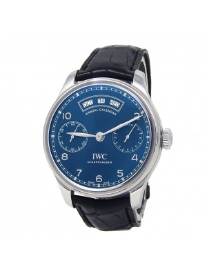 IWC Portugieser Annual Calendar Stainless Steel Automatic Men's Watch IW503502