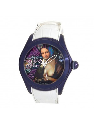 Corum Bubble 42 ElisabettaFantone/Juliette Jourdain Purple PVD S.S L082/03201