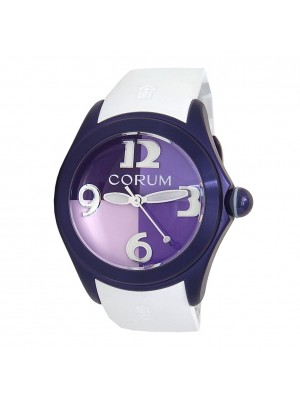 Corum Bubble 42 4 Colours Purple PVD Stainless Steel Automatic Watch L082/03301