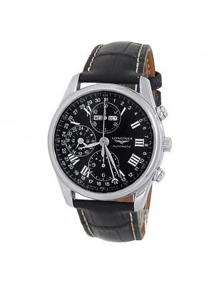 Longines Master Collection Stainless Steel Auto Black Men's Watch L2.673.4.51.7