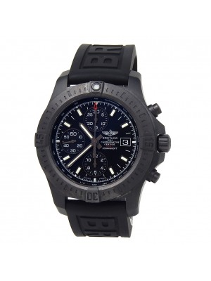 Breitling Colt Chronograph Black Stainless Steel Automatic Men's Watch M13388