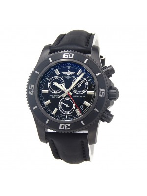 Breitling Super Ocean Chrono M2000 Black PVD S.S Automatic Men's Watch M73310