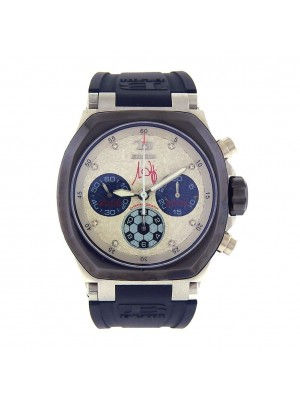 TB Buti M. Lippi Stainless Steel Automatic Chronograph Men's Watch