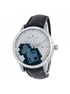 Maurice Lacroix Masterpiece Square Wheel Manual Wind Mens Watch MP7158-SS001-909