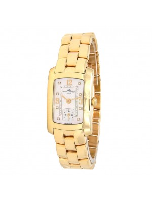 Baume & Mercier Hampton Milleis 18k Yellow Gold Quartz Ladies Watch MV045229
