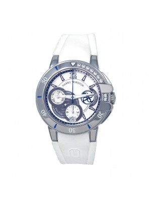 Harry Winston Ocean Sport Chronograph Zalium Auto Ladies Watch OCSACH38ZZ001