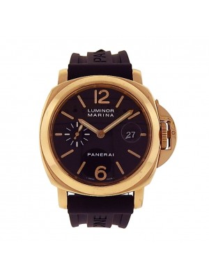 Panerai Luminor Marina 18K Yellow Gold Automatic Men's Watch PAM00140