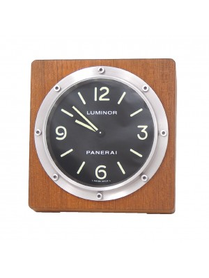 Panerai Swiss Quartz Teak & Stainless Table Watch - PAM00254
