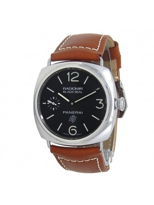 Panerai Radiomir Black Seal Stainless Steel Men's Watch Manual PAM00380