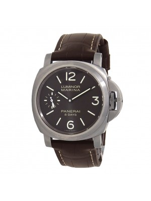 Panerai Luminor Marina 8 Days Power Reserve Titanium Manual Watch PAM00564