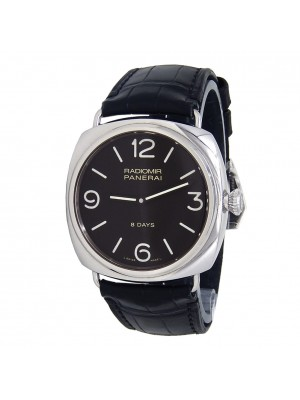 Panerai Radiomir Black Seal 8 Days Stainless Steel Black Men's Watch PAM00610
