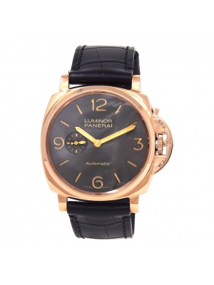 Panerai Luminor Due 3 Days 18k Rose Gold Automatic Men's Watch PAM00675