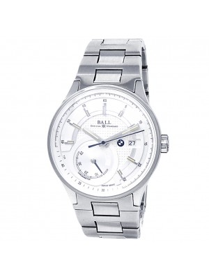 Ball BMW Stainless Steel Automatic Silver Men's Watch PM3010C-SCJ-SL