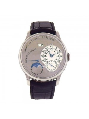 F.P.Journe Octa Luna Platinum Power Reserve Date Display Automatic Watch PT950