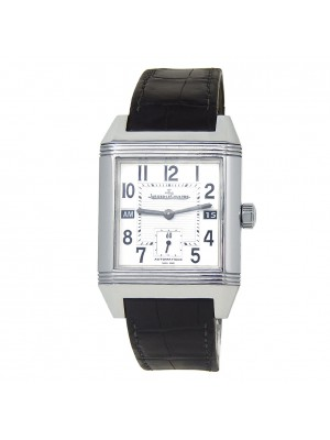 Jaeger-LeCoultre Reverso Squadra Hometime Stainless Steel Men's Watch Q7008620