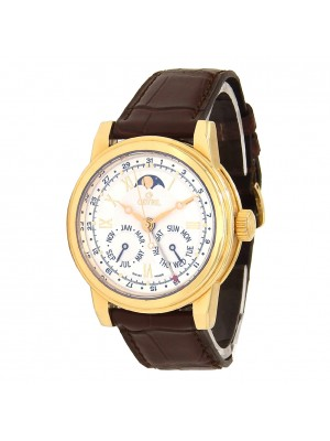 Gevril Soho Deluxe 18k Yellow Gold Automatic Men's Watch R012