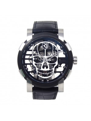 Romain Jerome Skylab Speed Metal Black PVD S.S Mechanical Men's Watch RJMAU03024