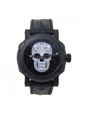 Romain Jerome Dia De Los Muertos Black PVD Stainless Steel Ceramic RJTAUFM00113