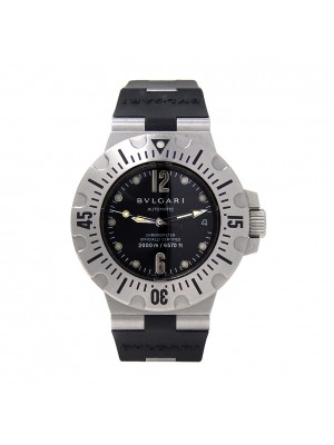 Bvlgari Diagono Scuba Stainless Steel Automatic Men's Watch SD42S