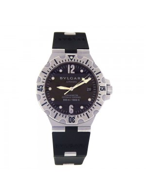 Bvlgari Diagono Scuba Date Display Stainless Steel Automatic Men's Watch SD 40 S