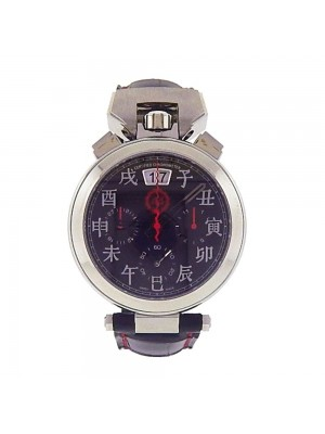 Bovet Sportster Stainless Steel Automatic Chronograph Men's Watch SP0450-GOMA-BA