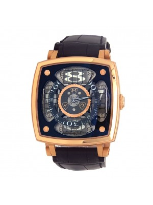 MCT Sequential One 18k Rose Gold Mechanical Men's Watch SQ45S1PGS