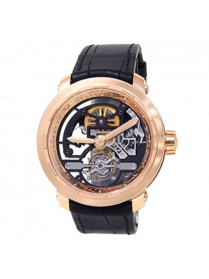 DeWitt Twenty 8 Eight Tourbillon 18k Rose Gold Manual Skeleton Watch T8.TH.008A