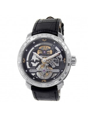 DeWitt Twenty 8 Eight Tourbillon 18k White Gold Skeleton Men's Watch T8.TH.009A