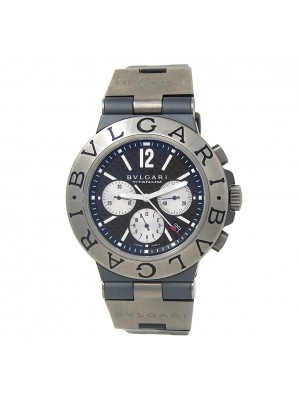 Bvlgari Diagono Titanium Men's Watch Automatic TI 44 TA CH