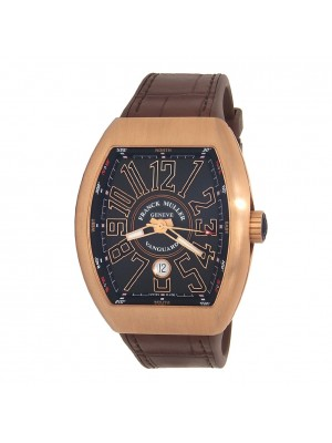 Franck Muller Vanguard 18k Rose Gold Automatic Men's Watch V45SCDT