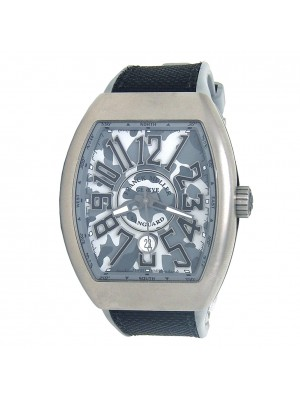 Franck Muller Vanguard Camouflage Titanium Automatic Men's Watch V 45 SC DT