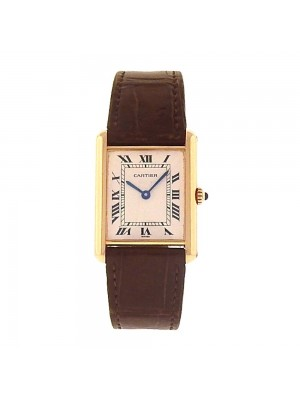 Cartier Tank Louis Cartier 18K Yellow Gold Roman Numerals Quartz Watch W1529856