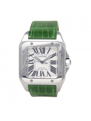 Cartier Santos 100 XL Stainless Steel Automatic Men's Watch W20073X8