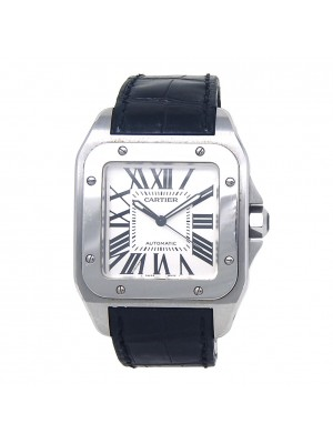 Cartier Santos 100 Stainless Steel Automatic Men's Watch W20073X8