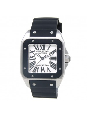 Cartier Santos 100 Stainless Steel Automatic Men's Watch W20121U2