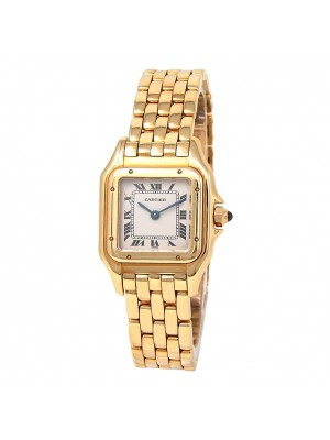 Cartier Panthere 18k Yellow Gold Swiss Quartz Ladies Watch W25022B9