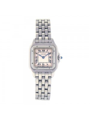 Cartier Panthere Stainless Steel Roman Numerals Quartz Ladies Watch W25033P5