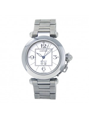 Cartier Pasha C Stainless Steel Men's Watch Automatic W31055M7