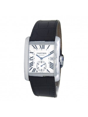 Cartier Tank MC Stainless Steel Automatic Men's Watch W5330003