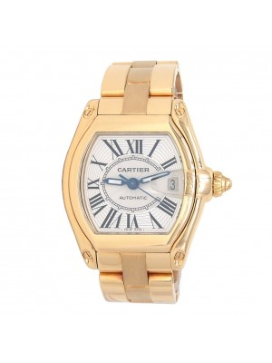 Cartier Roadster 18k Yellow Gold Men's Watch Automatic W62005V1