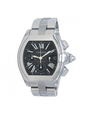 Cartier Roadster Stainless Steel Men's Watch Automatic W62020X6