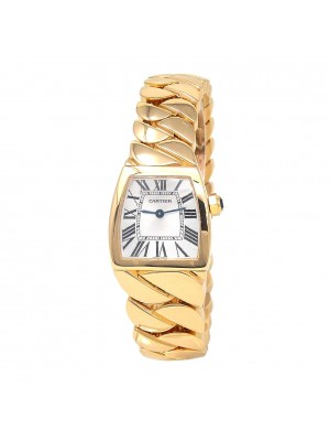 Cartier La Dona 18k Yellow Gold Swiss Quartz Ladies Watch W640030I