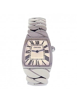 Cartier La Dona W660022I Stainless Steel Quartz White Ladies Watch