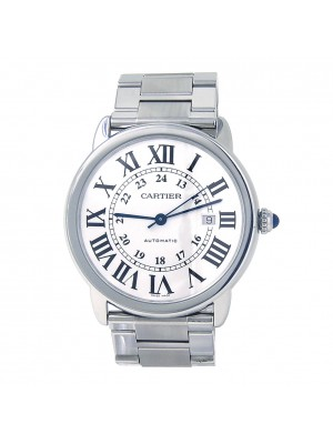 Cartier Ronde Solo de Cartier Stainless Steel Automatic Men's Watch W6701011