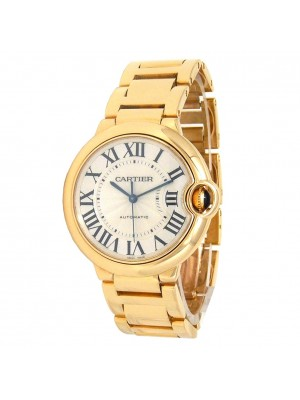 Cartier Ballon Bleu 18K Yellow Gold Automatic Men's Watch W69003Z2